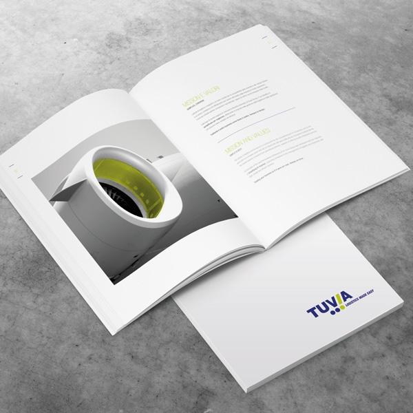 Company profile e brochure commerciale